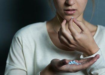 taking diazepam