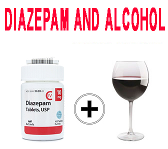 diazepam and alcohol