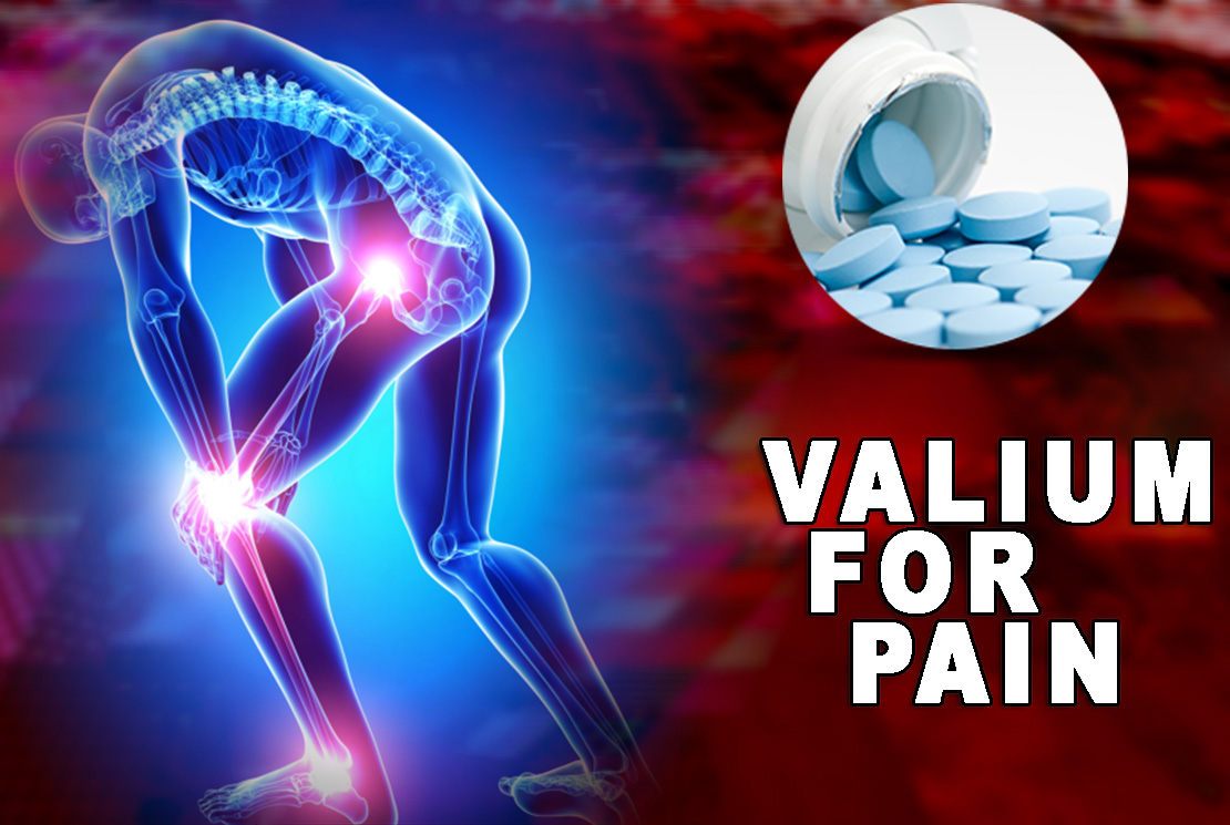 Valium for pain
